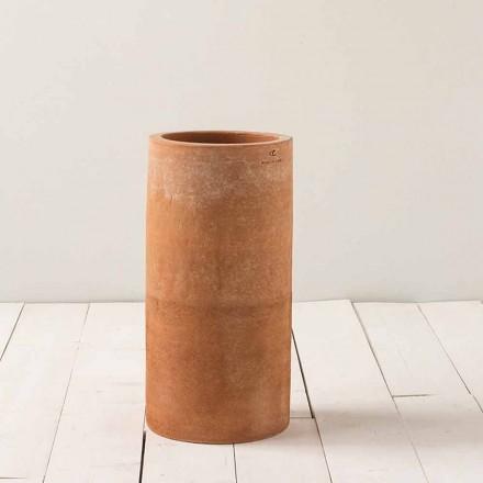 Moderne udendørs vase i ler H 50cm Tirrenia - Toscot