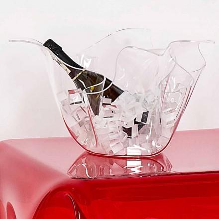 Vase intern / ekstern multi-purpose gennemsigtig Pina, moderne design