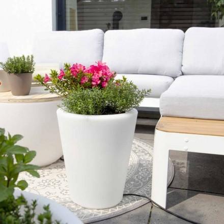 Lysende vase til eksteriør og interiør, farverigt design i 3 dimensioner - Vasostar