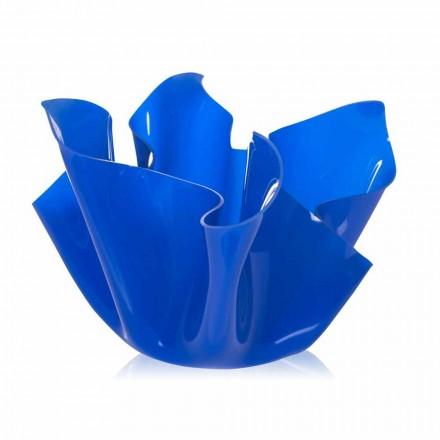 Udendørs Multipurpose Vessel / intern Pina blå, moderne design, fremstillet i Italien