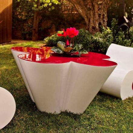 Vondom Agatha design udendørs bord i farvet polyethylen