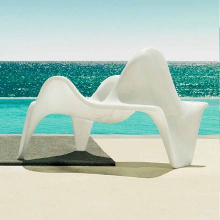 Vondom F3 polyethylen haven lænestol med moderne design