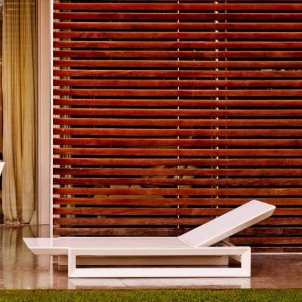 Vondom Frame design havemøbler i hvid polyethylen