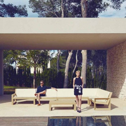 Vondom Ramme moderne have lounge i polyethylen harpiks