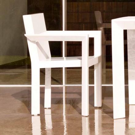 Vondom Frame havestole med armlæn i polyethylenharpiks, 2 stykker