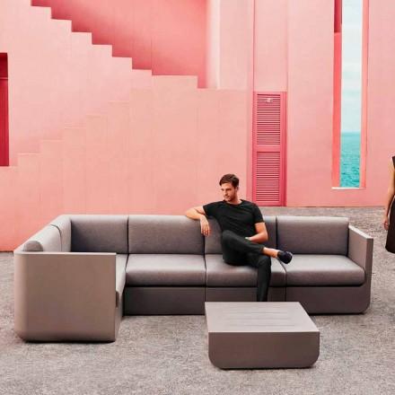 Vondom Ulm sammensætning taupe design haven lounge