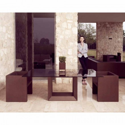 Vondom Vela moderne design haven lænestol, bronze finish