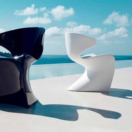 Vondom Wing design havestole i polyethylen L50xD56xH74 cm