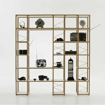 Moderne modulær bogreol Zia Babele I Castelli 12