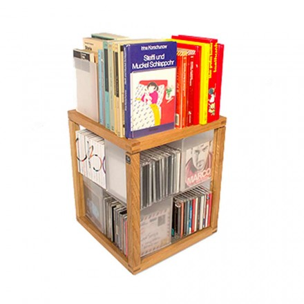 Moderne bogreol Zia The babel Trottole CD Holder