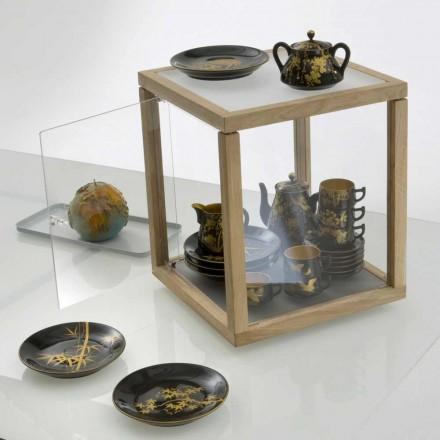 Modulopbygget design bibliotek Zia Babel Spinning Top Toy taske med Anta
