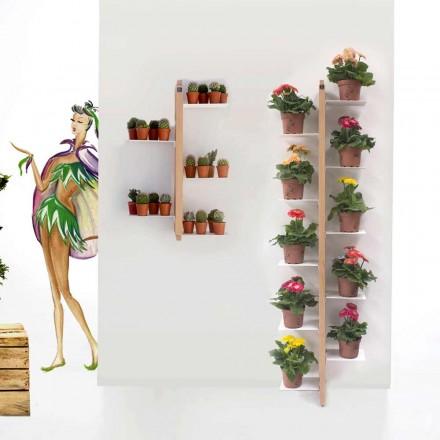 Tante Flora pot fra jorden fastgjort til væggen